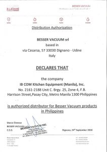 Besser-Certificate
